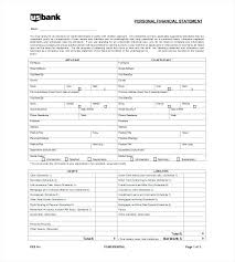 Personal Statements Templates Personal Financial Report Template Personal Financial Report