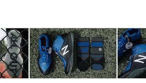new balance 4040v4. new balance x stance turf 4040v4, black with royal blue 4040v4