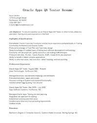 Qa Tester Resume Sample Entry Level Software Tester Resume Sample Qa ...
