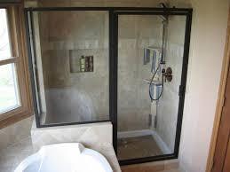 black steel framed shower doors healthcareoasis interiors 30
