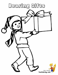 Small Picture Coloring Pages Present Coloring Page Tryonshorts Present Bow