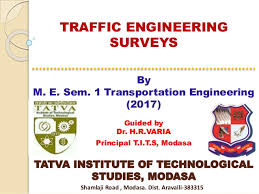 Traffic Engineering survey Analysis