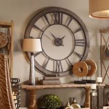 wall clock for office. unique clock large metal wall clock officegameroom gray industrial warehouse style two intended for office