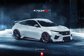 What If the 2017 Honda Civic in Type-R Guise Looked Like This ...