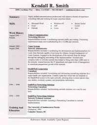 Sample Resume One (general professional)