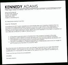 Real Cover Letter Examples Cover Letter Sample For Real Estate