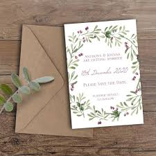 Save The Date Hand Made Bespoke Wedding Stationery By Especiallymade