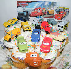 Cars 3 Cake Design Disney Pixar Cars 3 Movie Deluxe Cake Toppers Cupcake Decorations Set Of 14 With 12 Cars A Sticker Sheet And Toyring Featuring Lightning Next Gen
