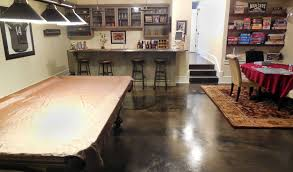 stained concrete floor basement. Delighful Stained Ultimate Stained Man Cave Floor With Concrete Basement N