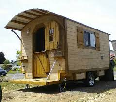 Small Picture The Little Rustic Cabin on Wheels Tiny House Blog