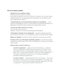 Sample Cover Letter Addressing Selection Criteria Great Cover Letter