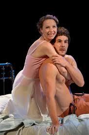 Rebekah Brockman (Juliet) And Dan Clegg (Romeo) In Shana Cooperu0027s  Production Of