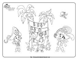 Jake And The Neverland Pirates Coloring Pages Throughout Page ...