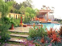 Backyard Designs With Pool Gorgeous Landscaping Ideas For Pool Areas