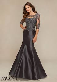 Satin Evening Dress Style 71316 Morilee