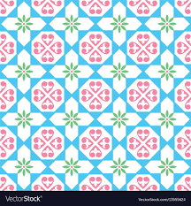 Pattern In Spanish New Spanish Tiles Pattern Seamless Design Royalty Free Vector