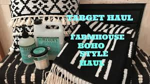 Small Picture TARGET FARMHOUSE BOHO HOME DECOR HAUL GIVEAWAY YouTube