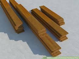 image led install a prefinished hardwood floor step 1