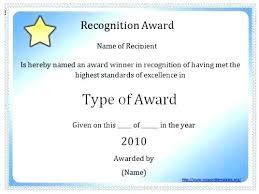 Award Certificate Template Free Blank Award Certificate Template Word Tlcmentoring Info