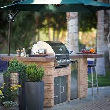 Bull Outdoor Products BBQ Island With Burner Angus Gas Grill - Bull outdoor kitchen
