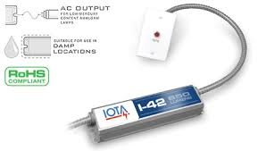 iota i 42 em a emergency ballast for 4 pin compact lamps