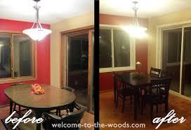 paint window trim white dining room