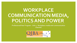Communication Media Workplace Communication Media Politics And Power Ppt Video Online