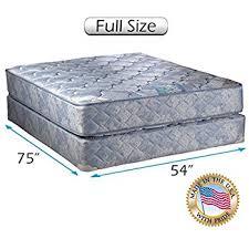 full size mattress set. Chiro Premier Orthopedic (Blue Color) Full Size Mattress And Box Spring Set  - Fully Full Size Mattress Set M