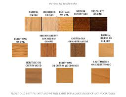 different types of wood furniture. The Mission Works Furniture Gallery :: Wood Finish Selection Anna Lee Collection Finishes Different Types Of O