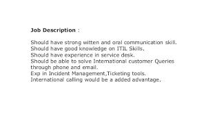 help desk analyst job description walkin in chennai for service desk analyst tech mahindra