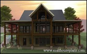 Download Single Story Lakefront House Plans  AdhomeLake Front Home Plans