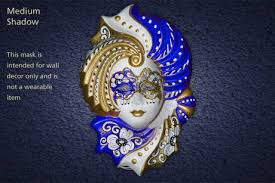 Decorative Venetian Wall Masks Second Life Marketplace VENETIAN Masquerade Wall Hanging 39