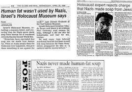 thought crimes questioning zionism communism the holocaust and jew soap hoax articles