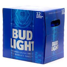12 Pack Of Bud Light Bottles Cost Bud Light 16oz Aluminum Bottle 12 Pack