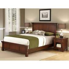 The Aspen Collection Rustic Cherry Queen Bed Night Stand P imwidth=320&impolicy=medium