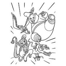 Small Picture Top 10 Free Printable Kung Fu Panda Coloring Pages Online