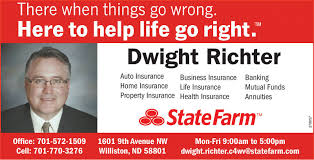 TUESDAY, APRIL 28, 2020 Ad - State Farm - Dwight Richter ...
