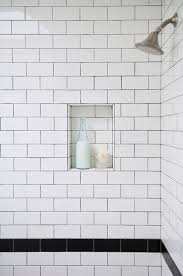 Image Bathroom Was Looking Over One Of My Past Posts Where Compared White Subway Tiles With Matching Grout To Subway Tiles With Dark Grout And Realized That Didnt To Da Loos To Da Loos White Subway Tiles With Dark Grout Do We Like It