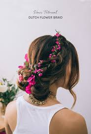 Flower Hair Style best 25 flower braids ideas rose hairstyle rose 8688 by wearticles.com