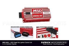 porsche twin plug ignition systems by patrick motorsports porsche msd digital 6al 6425 ignition control adjustable rev limiter