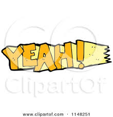 Image result for yeah word pic