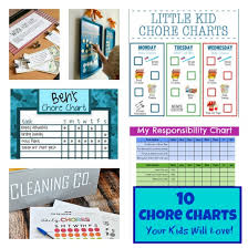 Child Organizer Job Chart 10 Adorable Chore Charts You Can Customize The Organized Mom