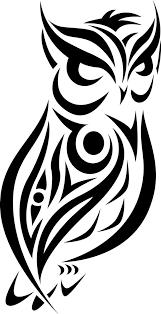 Tribal Set Owl I Designed In 2013 Tattoo Tegninger Ugler A