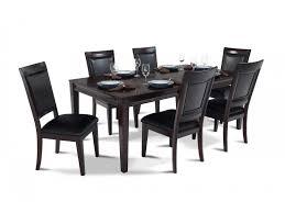 7 piece black dining room set. Room · Matrix 7 Piece Dining Set Black