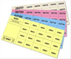 Perforated Raffle Ticket Sheets Raffle Ticket Size D Jforms Perforated And Numbered Tickets For