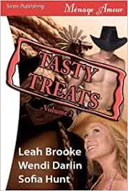 Amazon.com: Tasty Treats Anthology, Volume 2 [Back in Her Bed, Back for  More, Back in the Saddle] (Siren Menage Amour) (9781606014752): Brooke,  Leah, Darlin, Wendi, Hunt, Sofia: Books