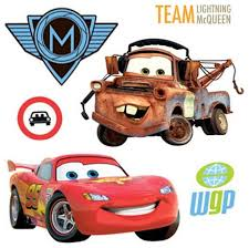Small Picture 26pc Disneys Cars 2 McQueen Accent Decal Wall Stickers