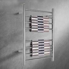 towel warmer rack. Wall Mount Stainless Steel Polished Towel Warmer Drying Rack Heated Rails