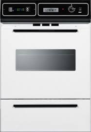 24 inch single gas wall oven with
