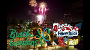 busch gardens full 4th of july fireworks independence day 2018